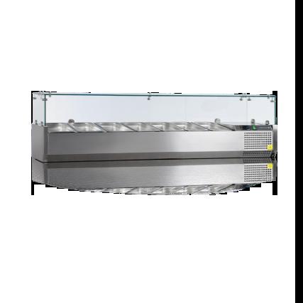 Køleopsats 160x33,5 til ¼ GN kantiner