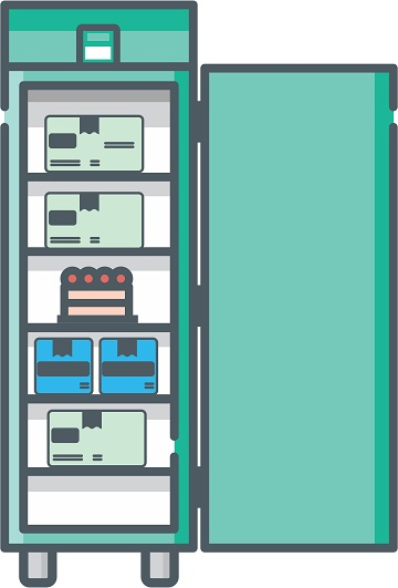 industrikøleskab